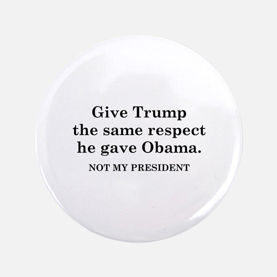 "Same Respect 3.5"" Button"