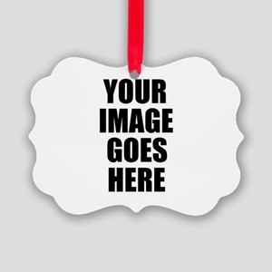 Personalize Your Own Picture Ornament
