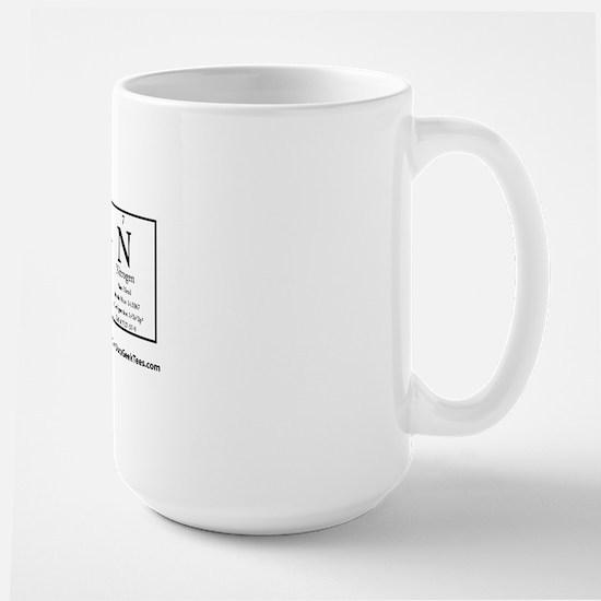 Au S Ti N Transparent Large Mug