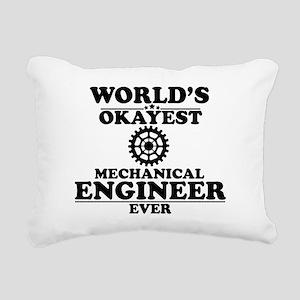 WORLD'S OKAYEST MECHANICAL ENGINEER EVER Rectangul