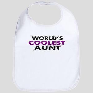 World's Coolest Aunt Bib