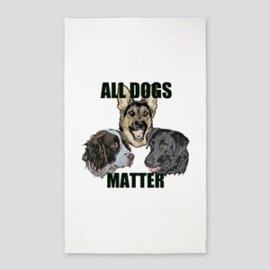 All dogs matter Area Rug
