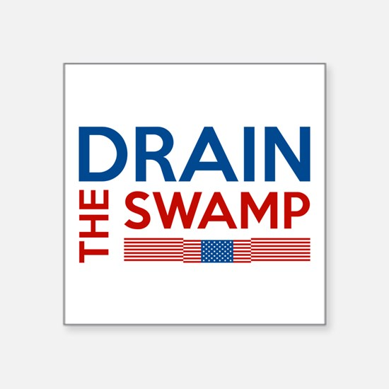 Drain The Swamp Sticker