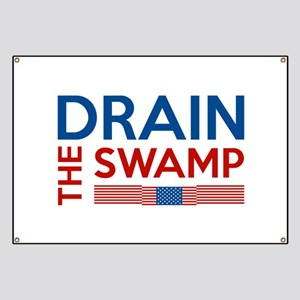 Drain The Swamp Banner