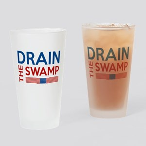 Drain The Swamp Drinking Glass