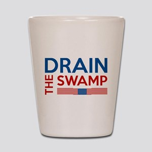 Drain The Swamp Shot Glass
