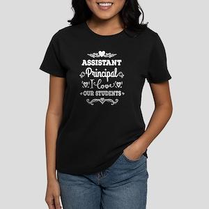 Assistant Principal Women's Dark T-Shirt