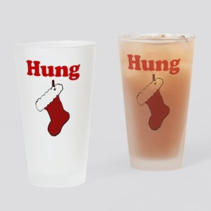 Hung Stocking Drinking Glass