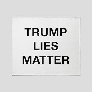 Trump Lies Matter Stadium Blanket