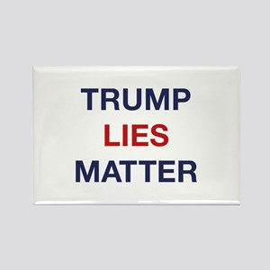 Trump Lies Matter Rectangle Magnet