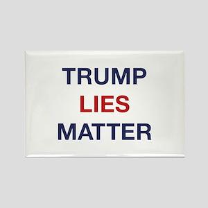 Trump Lies Matter Rectangle Magnet