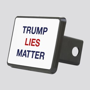 Trump Lies Matter Rectangular Hitch Cover