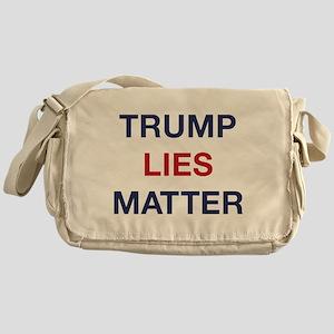 Trump Lies Matter Messenger Bag