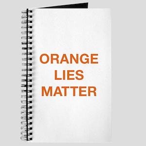 Orange Lies Matter Journal