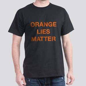 Orange Lies Matter Dark T-Shirt