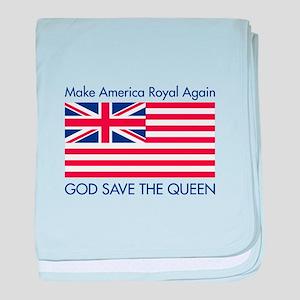 Make America Royal Again baby blanket