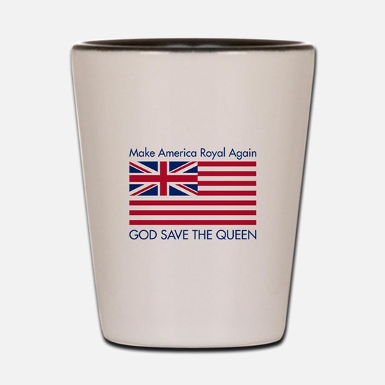 Make America Royal Again Shot Glass