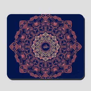 Tribal Hogfish Mandala Mousepad