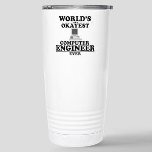 WORLD'S OKAYEST COMPUTER ENGINEER EVER Travel Mug