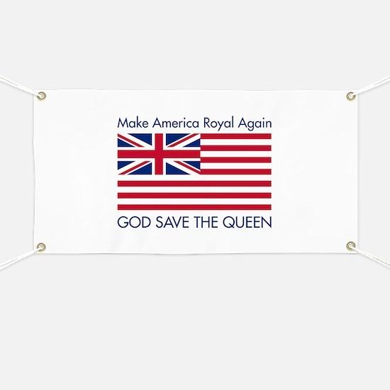 Make America Royal Again Banner