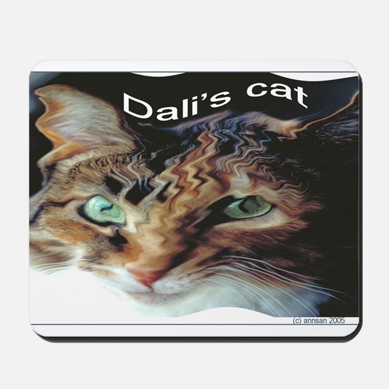 Dali's Cat Mousepad