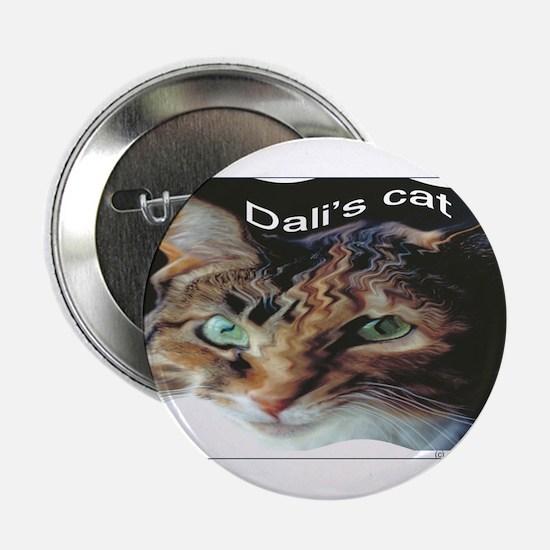 Dali's Cat Button