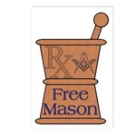 Pharmacist Mason Postcards (Package of 8)
