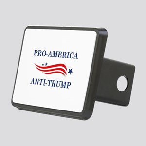 Pro-America Anti-Trump Rectangular Hitch Cover