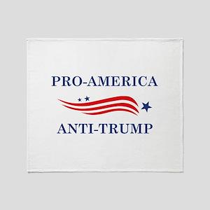 Pro-America Anti-Trump Stadium Blanket