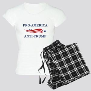 Pro-America Anti-Trump Women's Light Pajamas