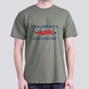 Pro-America Anti-Trump Dark T-Shirt