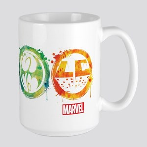 Defenders Icons Large Mug