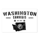 Washington Cannabis Postcards (Package of 8)