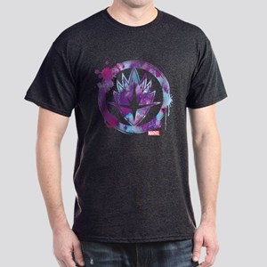 Guardians of the Galaxy Splatter Icon Dark T-Shirt