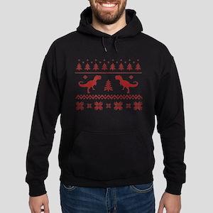 Ugly T-Rex Dinosaur Christmas Sweater Sweatshirt