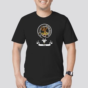 Badge - Hay Men's Fitted T-Shirt (dark)