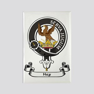 Badge - Hay Rectangle Magnet