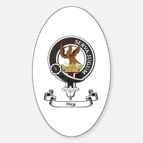 Badge - Hay Sticker (Oval)