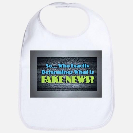 Fake News Baby Bib