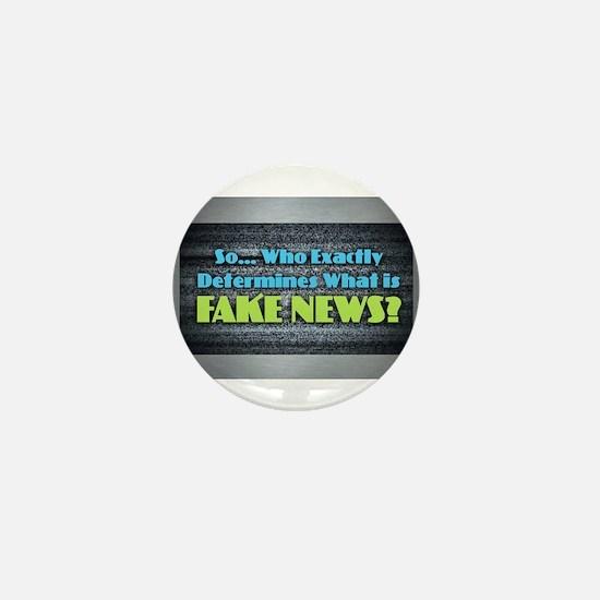Fake News Mini Button