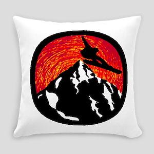 SNOWBOARDING Everyday Pillow
