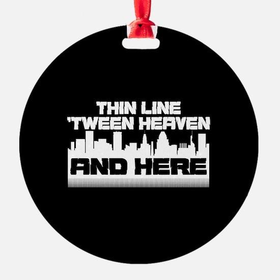 Thin Line Ornament