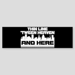 Thin Line Sticker (Bumper)