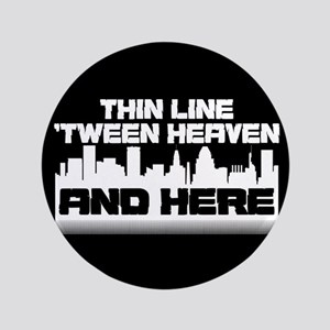Thin Line Button
