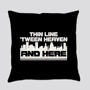 Thin Line Everyday Pillow