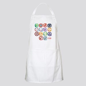 Marvel All Splatter Icons Apron