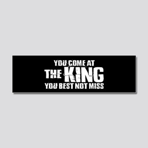 The King Car Magnet 10 x 3