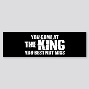 The King Sticker (Bumper)