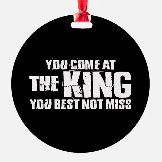The King Ornament