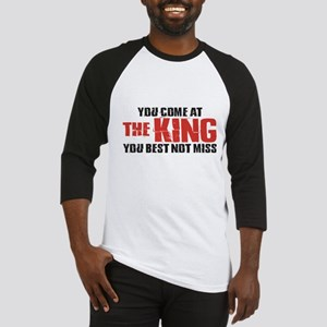 The King Baseball Jersey